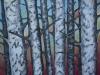 "Hearts of Muskoka, Acrylic on Canvas, 40 x 30 x 3/4"""