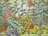 "Enchanted Garden, Acrylic on Canvas Panel, 24 x 30 x 3/4"""