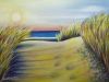 """The Beach, Acrylic on Canvas, 24 x 18 x 3/4"""""""