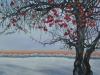 Winter Exposure, Acrylic on Canvas,  40-x 24 x 3/4 - Available