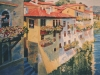Somewhere in Italy, Watercolour, 48 x 36, - Sold